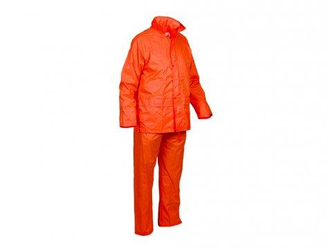 Good2Glow' Rainsuit, Jacket & Pant Set, Neon Orange SMALL - Esko