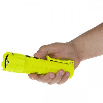 NIGHTSTICK Intrinsically Safe Torch 120 Lumens with Floodlight Hi Vis - Esko