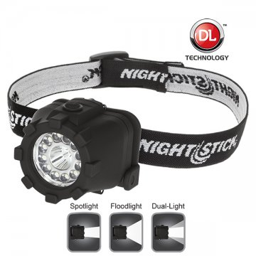 NIGHTSTICK Dual-Light Headlamp - Esko