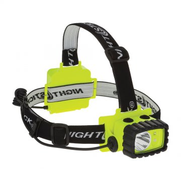 NIGHTSTICK IS DualLight Headlamp with Night Vision Green Light - Esko