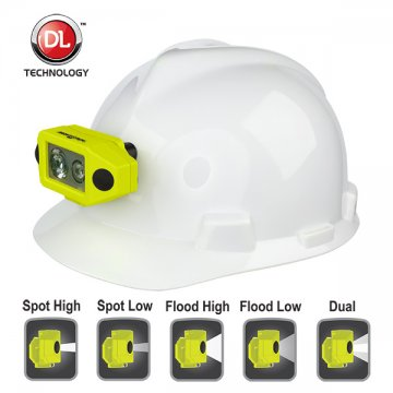 NIGHTSTICK IS Dual-Light Headlamp with Hard Hat Clip - Esko