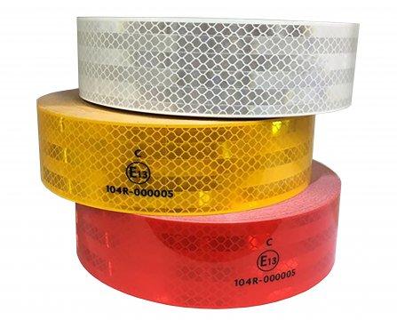 ESKO Premium Conspicuity Tape, ECE 104, Red - Esko