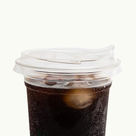 Flat Lid with Sipper hole - Ecoware