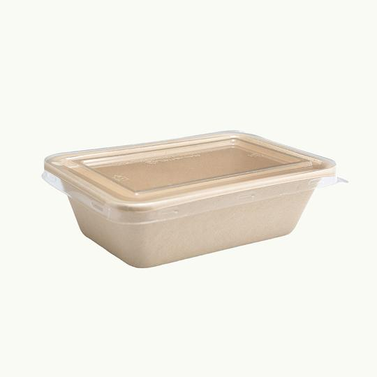 Lid Clear PLA for 700ml Food Box - Ecoware
