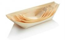 Boat Pine 26 x 11.5 x 3cm Jumbo - Vegware - Pack & Carton