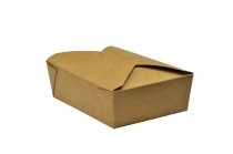 No.3 food carton 1800ml 19.5x14x6.5cm - Vegware