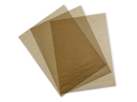 Wrap greaseproof unbleached - 46 x 36cm - Vegware - Pack & Carton