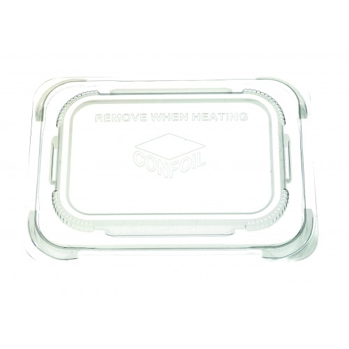 Container Food Lid Polypropylene for DP6121 trays - Confoil