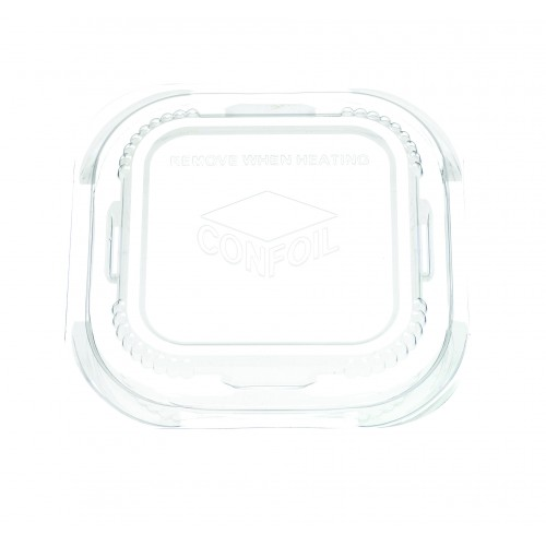 Container Food Lid Polypropylene for DP6180 trays - Confoil