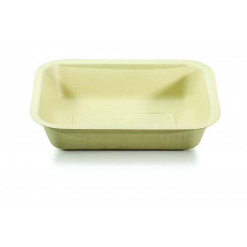 Single Cavity Lined Meal Tray - Confoil
