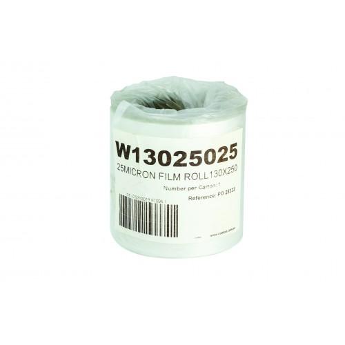 Film Heat Seal Lidding 130mm X 250M X 25Mu  - Confoil