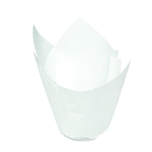 Petite Muffin Wrap (400 ctn) - White - Confoil