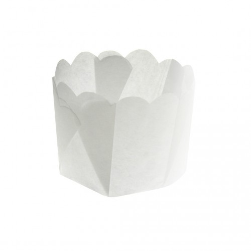 Paper Daisy Cup- White 25G - Confoil