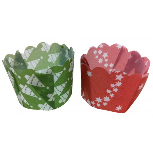 Paper Daisy Cup- Mixed Christmas Pack 25G - Confoil