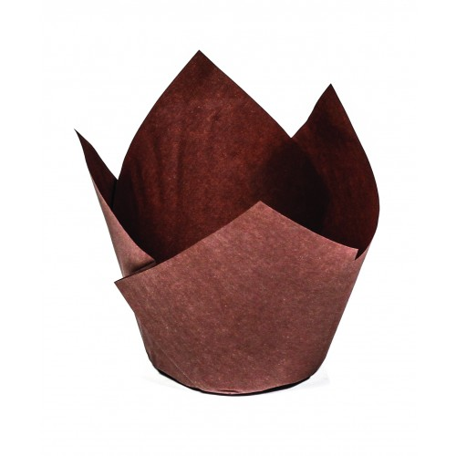 Medium Muffin Wrap- Brown - Confoil