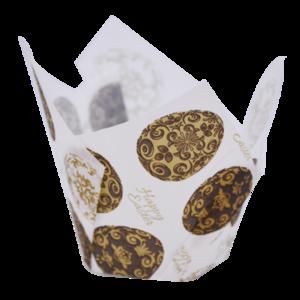 Texas Muffin Wrap - Gilded Egg (150 ctn) - Confoil