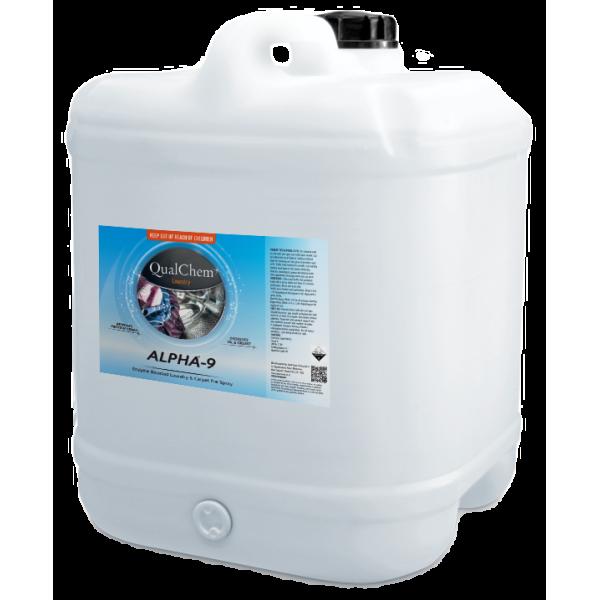 Alpha-9 - Enzyme Boosted Laundry Pre-spray 20L - Qualchem