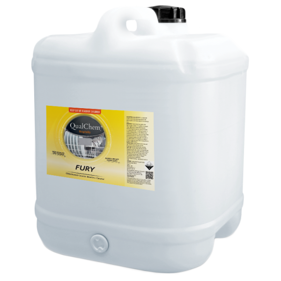 Fury Chlorinated Caustic Cleaner 20L - Qualchem