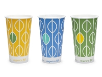 Paper Cold Cup 12oz/340ml Compostable - Vegware - Pack & Carton