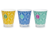 Paper Cold Cup 16oz/450ml Compostable - Vegware - Pack & Carton
