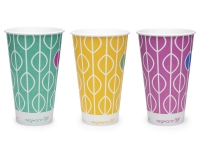 Paper Cold Cup 22oz/640ml Compostable - Vegware - Pack & Carton