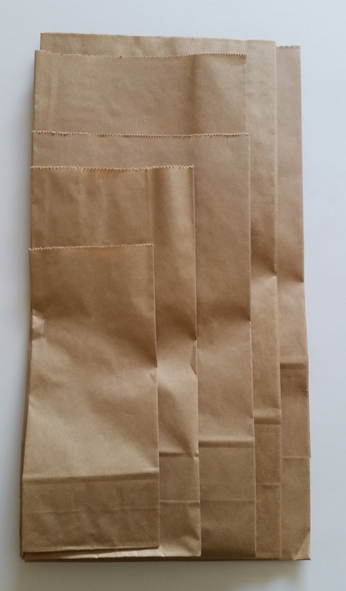 SOS Block Bottom Paper Bag #6 205x140x390mm - Fortune