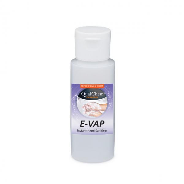Hand Sanitiser Alcohol Gel Evap 60ml - Qualchem