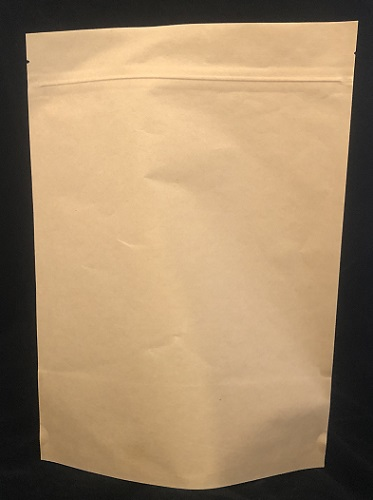 Stand Up Pouch Compostable 1kg 235x335mm Kraft