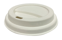 Lid Sugarcane for 6oz & 8oz hot cups - Castaway