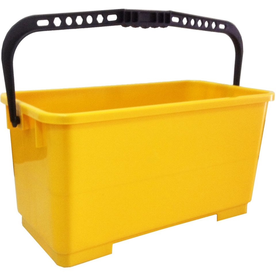 Filta Flat Mop Bucket with Wheels & Trays (yellow) 16L - Filta