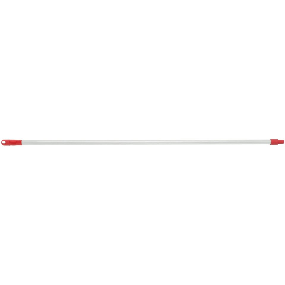 Mop Handle with Nylon Tip (red) 1.5m X 25mm - Edco