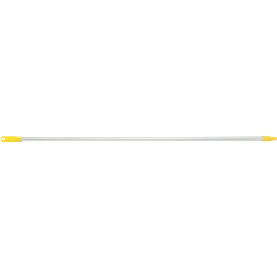 Mop Handle with Nylon Tip (yellow) 1.5m X 25mm - Edco