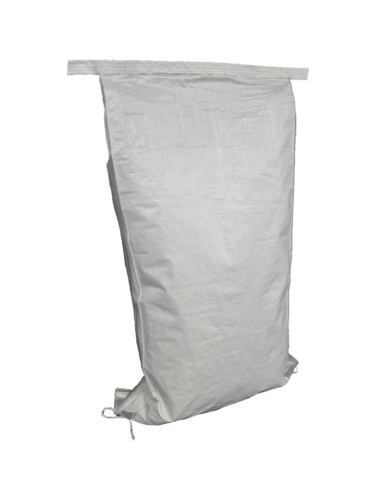 WPP White Plain Bag Clear Gussett 50micron HDPE Liner 900x410+100mm