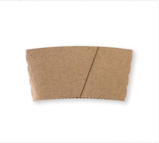 8oz Kraft cup sleeve - BioPak