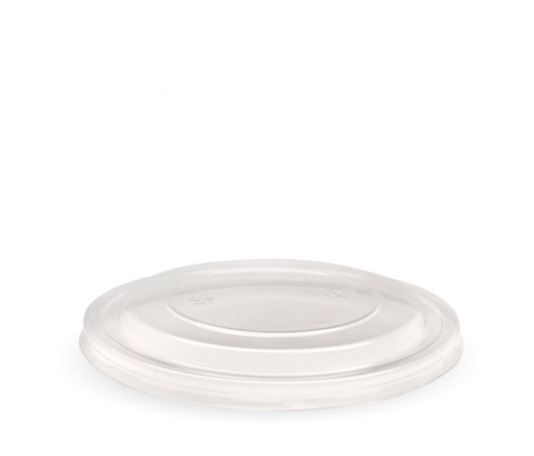 500-1,000ml Kraft BioBowl PET lid - clear - BioPak