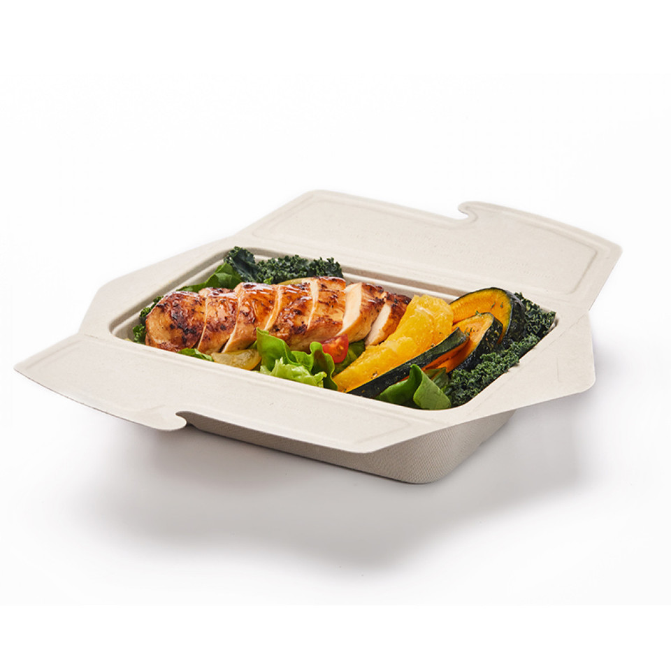 Rectangle Fold & Click Two Compartment - Epicure