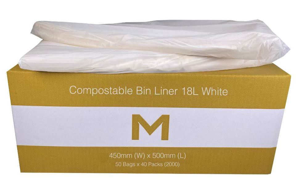Bin Liner 18L Brown Compostable - Matthews
