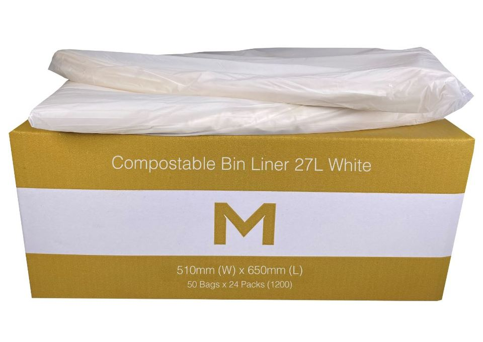 Office Bin Liner Compostable 27L Brown - Matthews