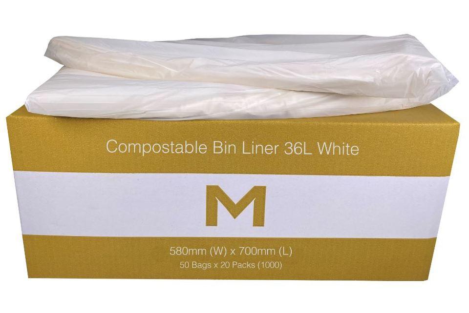 Bin Liner 36L Compostable Brown - Matthews