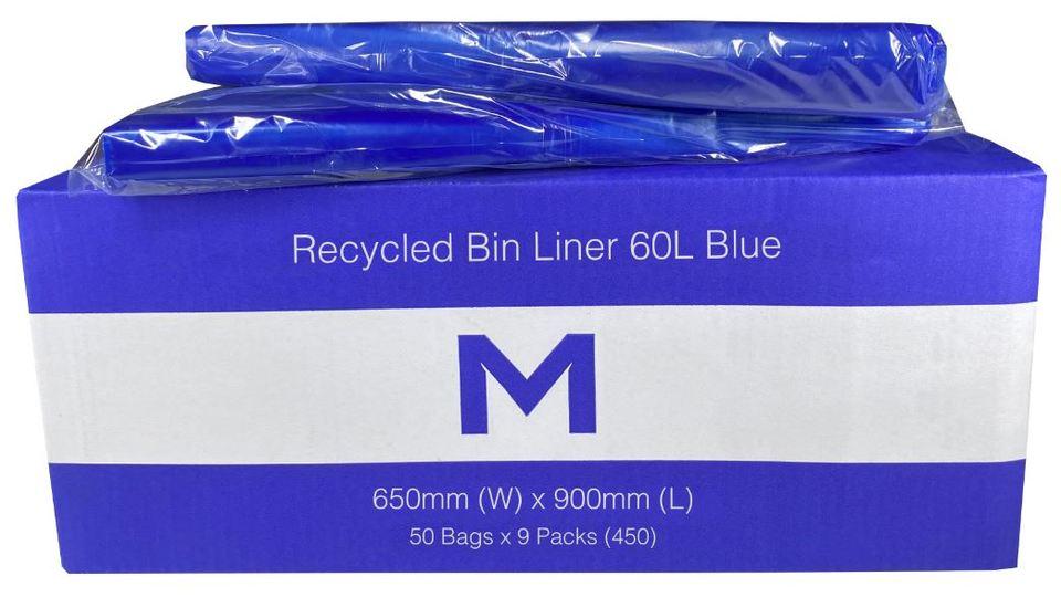 Bin Liner 60L Blue 60L - Matthews