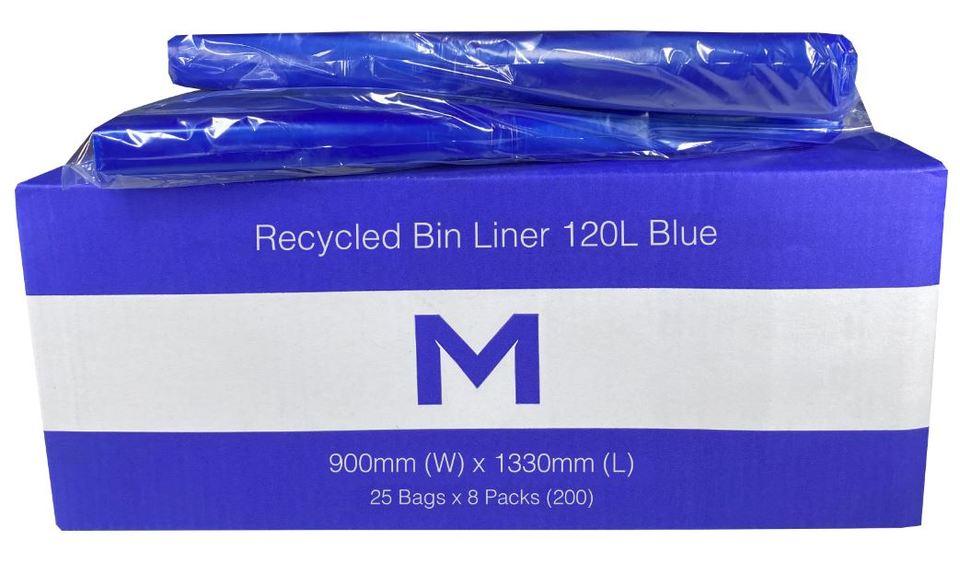 Bin Liner 120L Blue - Matthews