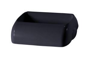 Wall Mount Bin 23L Hidden Lid - Black, Hidden Design - Matthews