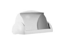 Wall Mount Bin 23L Sanitary Lid - White, Sanitary Design - Matthews