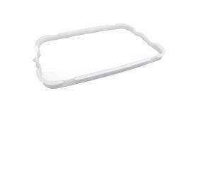 Wall Mount Bin 42L Bag Support - White, Hidden Design - Matthews