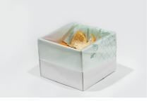 Office Desk Cube 1L - 11 x 11 x 8cm high - Vegware