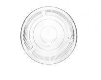 Cold Cup lid 9.6cm no hole PLA - Vegware