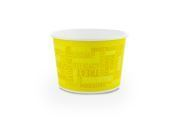 Container 16oz (560ml Brim) PRINTED PLA lined 11.5cm - Vegware