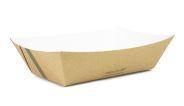 Tray kraft board 1000ml (24 x 16 x 5cm) - Vegware