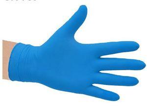 Nitrile Blue Gloves Powder Free LARGE - Selfgard
