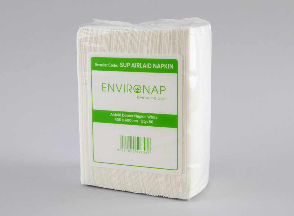Environap Airlaid Dinner Napkin - Coastal